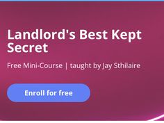 Landlord's Best Kept Secret Mini-Course Real Estate Ads, Best Kept Secret, Real Estate Investing, Tony Robbins, Being A Landlord, Cool Websites, Internet Marketing, Dubai, Improve Yourself