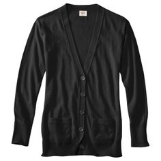 Mossimo Supply Co. Juniors Long Sleeve Cardigan - Assorted Colors.