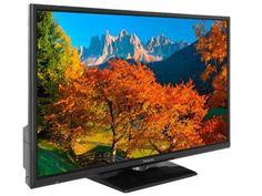 """TV LED 32"""" Panasonic Viera TC-32A400B - Conversor Digital 2 HDMI 1 USB com as melhores condições você encontra no Magazine Arapuan. Confira! Tv Led 32, Usb, Smart Tv, Samsung, Videos, Animals"""