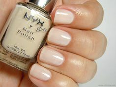 NYX Girls Nail Polish in Nude Toffee