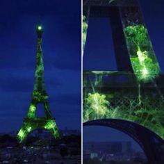 #cop21 #cop21paris2015 #cop21paris #1heart1tree by sutebi Eiffel_Tower #France