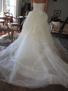 Details about Fishtail wedding dress bespoke (Vera wang ...