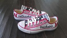 Nebraska Converse - these are more my style!!