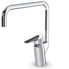Oras Optima. Kitchen faucet with an easy-grip lever (2733F)