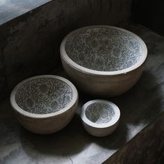With its intricate design this bowl can be used as a stunning piece of art, or more functionally used as a serving bowl!