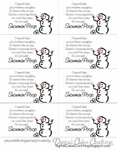 123 Best Snowman Poop Images Christmas Candy Christmas Goodies