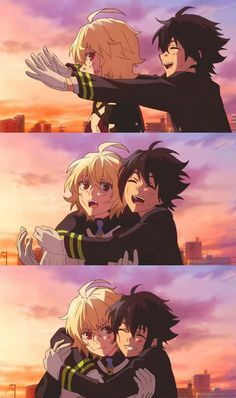 Seraph of the end,they made detail explain about friendship