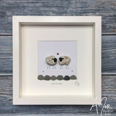 I design and create rustic gifts and décor for the home and office. Including the original AMor Rustic Arts world wide selling Pebble Pictures and batiks. Beach Rock Art, Pebble Pictures, Art Pictures, Pebble Art Family, Sheep Art, Christmas Gifts To Make, Rock And Pebbles, Rustic Gifts, Sea Glass Art