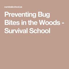 Preventing Bug Bites in the Woods - Survival School