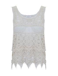 blanco crochet top