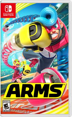 Learn more details about Arms for Nintendo Switch and take a look at gameplay screenshots and videos.