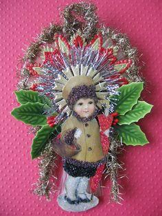 Vintage Look Victorian Christmas by HavAMarileeChristmas on Etsy, $30.00