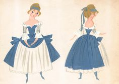 Cinderella-Mary Blair.  Aw, man, I love Mary Blair. ✤ || CHARACTER DESIGN REFERENCES