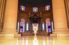 Basilica of Our Lady of Peace of Yamoussoukro Chapelle, Ivory Coast, Our Lady, Architecture, Empire State Building, Big Ben, Rome, Stained Glass, Photos