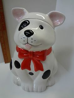 Cute Dog cookie jar.