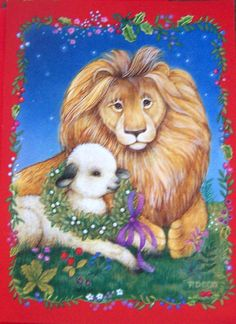 Current, Inc Lion & Lamb card
