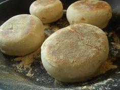Tante Sød: Stegt morgenbrød! (engelske muffins)