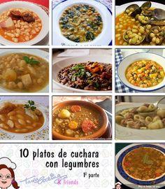 10 Platos de cuchara con legumbres, porque ya apetece! (parte I)