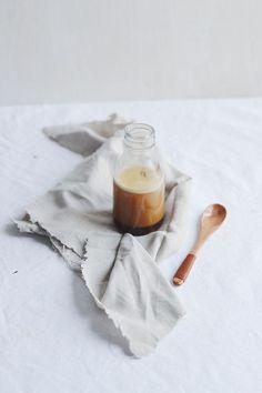 Vegan salted caramel coconut butter