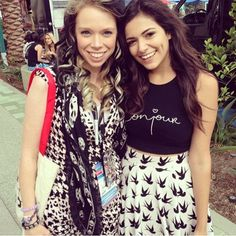 Bunny (grav3yardgirl) and Bethany (Macbarbie07) together! Does anyone else notice the blonde's face by Bunny??