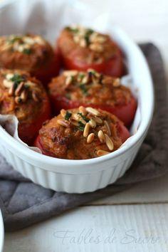 Pomodori perini ripieni gratinati