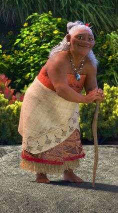 Gamma Tala, Moana's grandmother