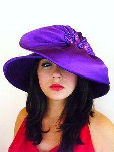tan satin hat, navy satin rich hat, burgundy wine hat, white wedding bridal hat, satin hats for brides, brown very dressy special occasion hat