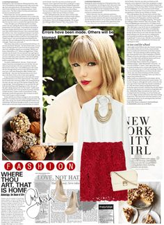 """""""Taylor Swift"""" by reka-hegyes ❤ liked on Polyvore"""