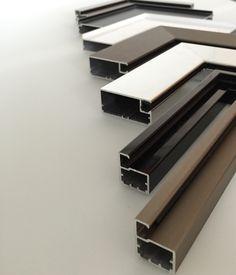 Aluminum Frame Corner Samples