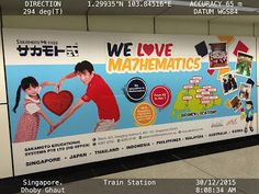 It might not be a good idea to pair Middle Age Man with young girls in advertisement in conservative Singapore    Dear Sir  I saw your advertisement at Dhoby Ghaut MRT station Singapore on 30/12/2015. The advertisement paired a middle age man and a young girl forming a heart shape. I know this ad was designed with pure intentions. But in conservative Singapore Parents are wary of sending their young child to be taught by male teachers privately or in a group. It just seem to send the wrong…
