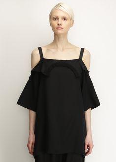 Maison Martin Margiela Silk Blouse (Black)