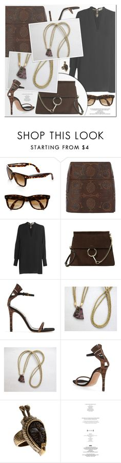"""Pardes (please read the description)"" by ruska-10 ❤ liked on Polyvore featuring Ray-Ban, Valentino, Chloé, ootd, valentino, items and pardes"