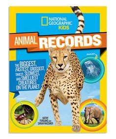 Look what I found on #zulily! Animal Records Paperback #zulilyfinds