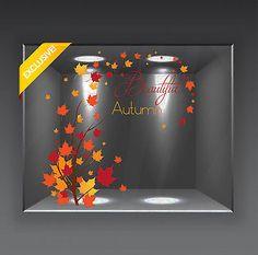 Vetrofania Vetrofanie Vetrina Vetrine Autunno Autumn Inverno Nuova Collezione