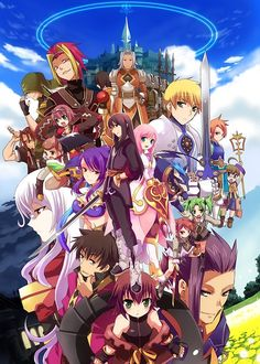 All or less of the Tales of Vesperia characters! no, I'm not going to name them all!