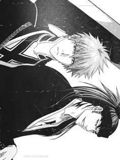 Anime/manga: Bleach Characters: Ichigo and Renji