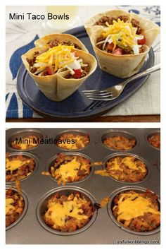 I love making things in muffin tins.   Now that the holidays are behind us I know a lot of people who are trying to cut back on their food intake.  This is another way of saying diet, but diets seem to only work for the short term.  A large part of maintaining your weight is portion …