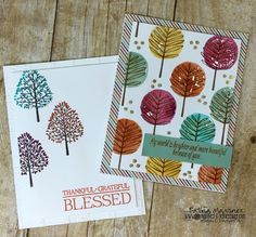 6 Cards With Stampin' UP Totally Trees I'm using a new Stamp Set from the…