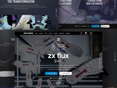 Adidas product launch detail page (concept) by   followilko
