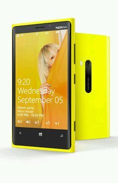 Nokia Lumia 920.