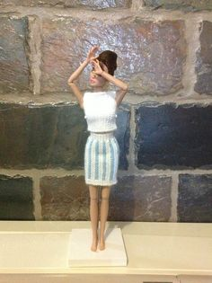 Skirt and top on an Integrity girl.