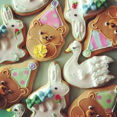 pretty sugar cookies