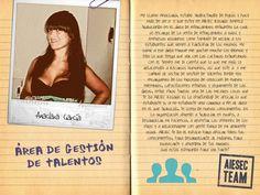 Anaclara cuenta sus vivencias en la organización