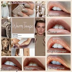 Pantone's Fall 2016 color, Warm Taupe, coordination with LipSense. Check out my Facebook page @lovelylipsbyjessie
