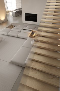 Behance :: For You Dream Home Design, Modern House Design, Home Interior Design, Interior Architecture, Luxury Homes Dream Houses, Aesthetic Room Decor, Dream Rooms, Minimalist Home, House Rooms