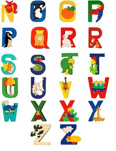 This nice Aphabet is made of maple wood (from sustainable forests).  The listing contains the letters of one alphabet as wished by You :o).      Give a chance to Your child to learn easier the letters!    Each little piece it is handmade and it is painted in different color.    It can be a nice decoration on Your child shelves, too.      Improve Your child skills,learn the colors, concentrate and have fun.    Have a look to my other animal families on this link…