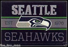 SEATTLE SEAHAWKS FOOTBALL NFL LICENSED VINTAGE TEAM LOGO INDOOR DECAL STICKER in Sports Mem, Cards & Fan Shop, Fan Apparel & Souvenirs, Football-NFL | eBay