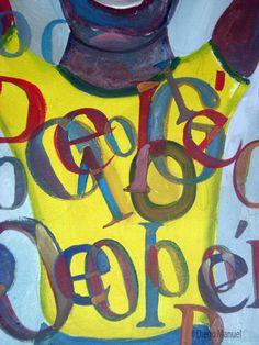 Pelé! Pelé!, pinturas de Diego Manuel