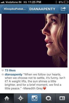 Meredith: greys anatomy quotes