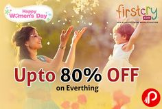 Firstcry is celebrating Women's Day by offering upto 80% off on all products. Get Extra 10% Off by using paytm wallet as payment option. #STAYSTRONG #MOMMYBEAUTYHACKS  http://www.paisebachaoindia.com/happy-womens-day-upto-80-off-on-everything-firstcry/